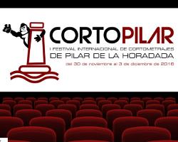 Emblema del festival de cortometrajes Cortopilar