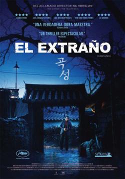 Cartel español de El extraño (The Wailing), de Na Hong-jin