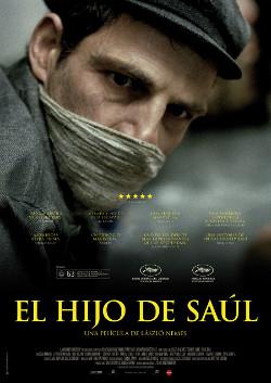 Cartel español de El hijo de Saúl, de László Nemes