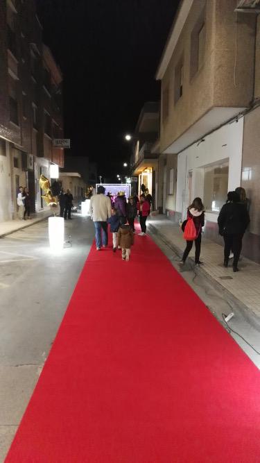 Alfombra roja en la gala de Cortopilar