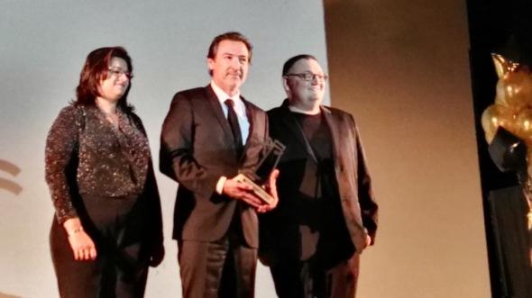 El actor Ginés García Millán recibe el Pilar de Honor 2016