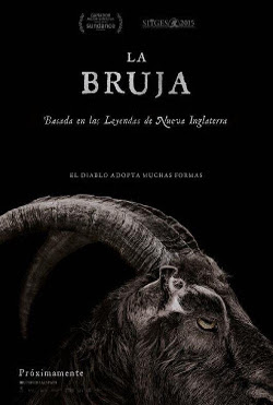 Cartel español de La bruja (The Witch), de Robert Eggers