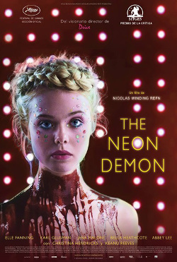 Cartel español de The Neon Demon, de Nicholas Winding Refn