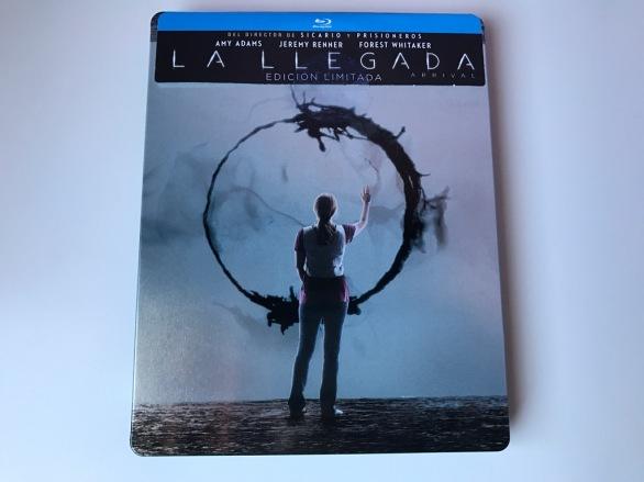 Blu-ray de La llegada exclusivo de la tienda Fnac