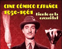 Imagen de la portada del libro Cine cómico español 1950-1961