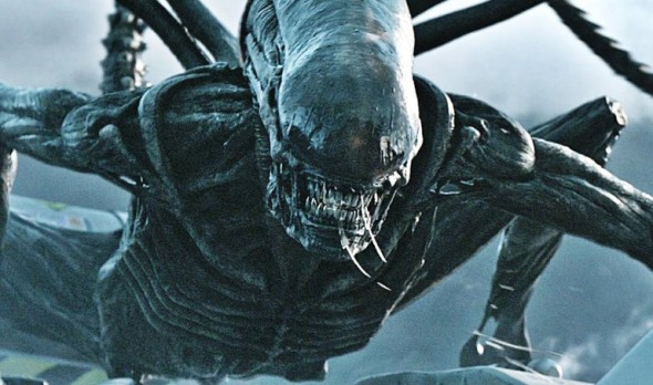 El alien adulto en Alien: Covenant
