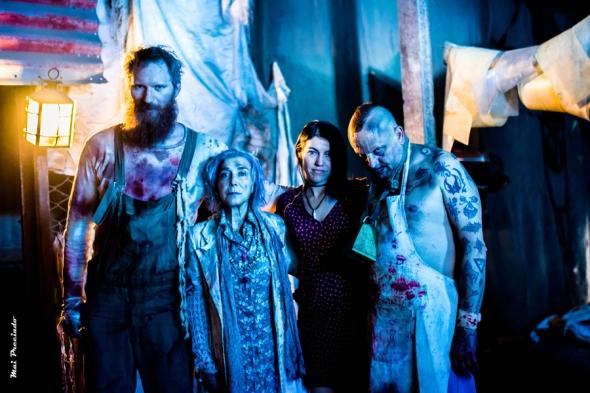 Una imagen del rodaje de Los Olvidados (What the Waters Left Behind)