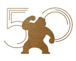 Logotipo de la 50 edición del festival de Sitges