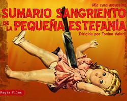 Sumario sangriento de la pequeña Estefanía, nueva referencia de la colección Cinema Giallo