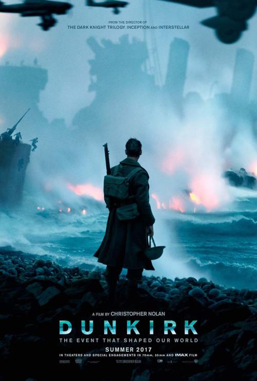 Póster inglés de Dunkerque, de Christopher Nolan