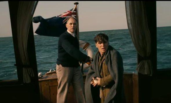 Mark Rylance y Cillian Murphy en Dunkerque, de Christopher Nolan