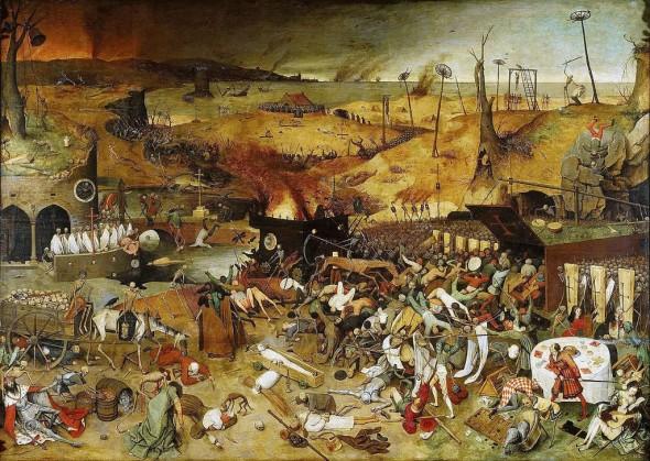 El triunfo de la Muerte, cuadro de Pieter Brueghel el Viejo