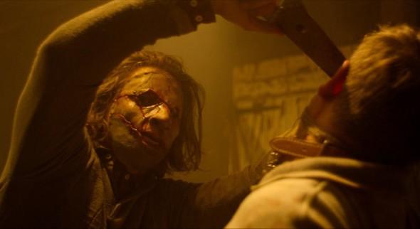 Una imagen de Leatherface, dirigida por Julien Maury y Alexandre Bustillo