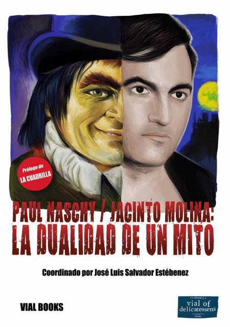 Libro sobre Paul Naschy coordinado por José Luis Salvador Estébenez