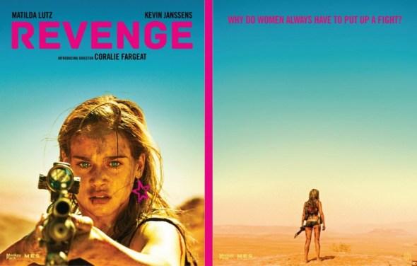 Imagen promocional de Revenge, de Coralie Fargeat