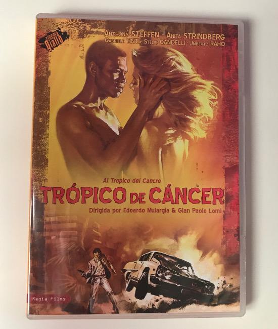 Portada del DVD Regia Films de Trópico de Cáncer