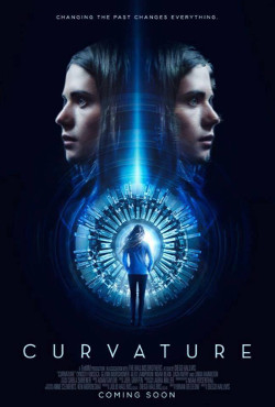 Poster de Curvature, dirigida por Diego Hallivis