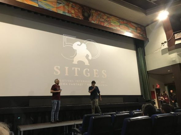 Andrés Goteira presenta Dhogs en el cine Retiro