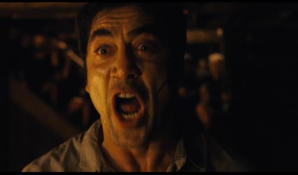 Una imagen de Javier Bardem en madre!, dirigida por Darren Aronofsky