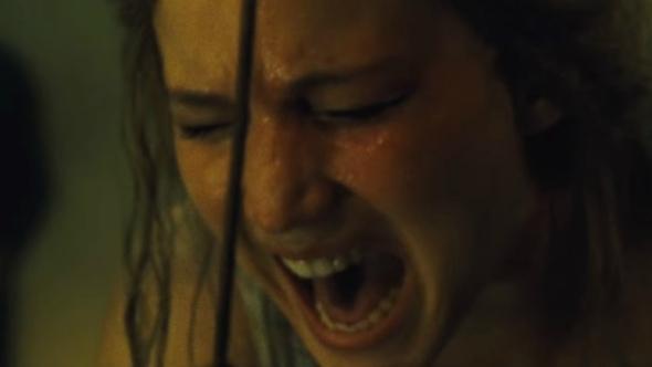 Una imagen de Jennifer Lawrence en madre!, dirigida por Darren Aronofsky
