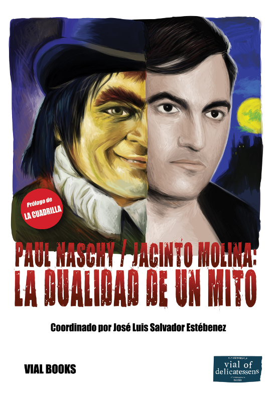Portada del libro Paul Naschy/Jacinto Molina. La dualidad de un mito