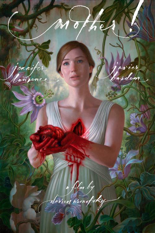 Cartel de la película madre!, dirigida por Darren Aronofsky