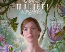 Una imagen del poster de madre!, dirigida por Darren Aronofsky