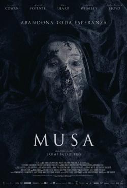 Poster de la película Musa, dirigida por Jaume Balagueró