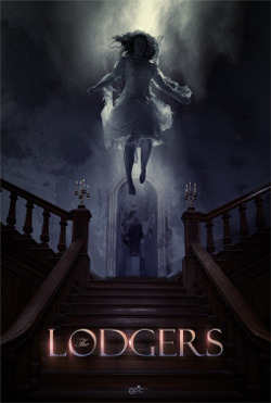 Póster de The Lodgers, dirigida por Brian O'Malley