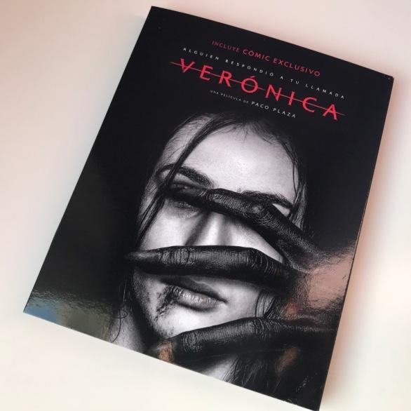 Verónica Blu-ray funda