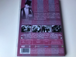 La ronda DVD contraportada