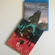 Orejas largas Blu-ray funda y caja