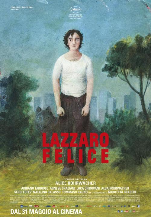 Poster de Lazzaro felice, dirigida por Alice Rohrwacher