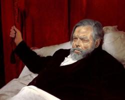 Orson Welles en una imagen de Malpertuis, dirigida por Harry Kümel
