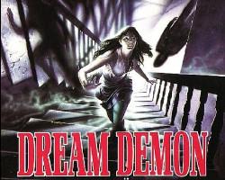 Una imagen del póster de Dream Demon, dirigida por Harley Cokeliss