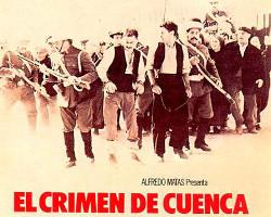 Extracto del póster de El crimen de Cuenca, dirigida por Pilar Miró