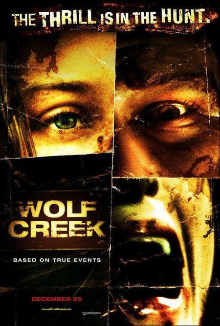 Poster de Wolf Creek, dirigida por Greg McLean