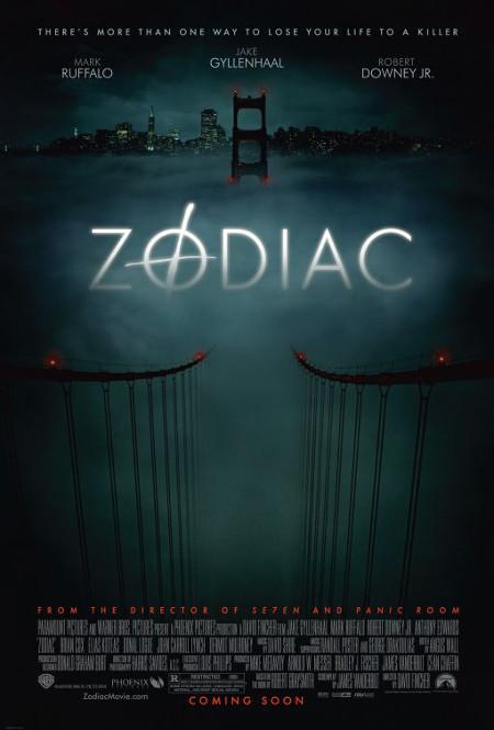 Póster de Zodiac, dirigida por David Fincher