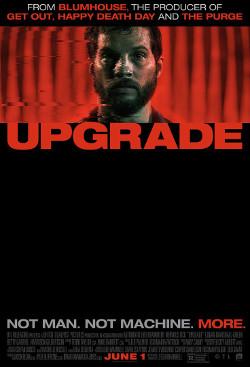 Póster de Upgrade, dirigida por Leigh Whannell