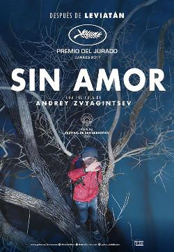 Póster de Sin amor, dirigida por Andrey Zvyagintsev