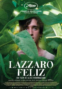 Póster de Lazzaro feliz, dirigida por Alice Rohrwacher