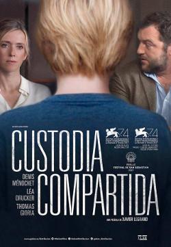 Póster de Custodia compartida, dirigida por Xavier Legrand