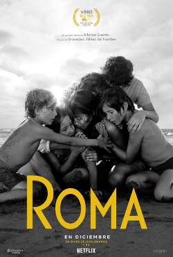 Póster de Roma, dirigida por Alfonso Cuarón