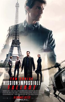 Póster de Misión: Imposible - Fallout, dirigida por Christopher McQuarrie