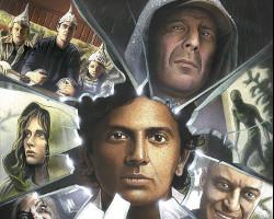 Un extracto de la portada del libro M. Night Shyamalan. El cineasta de cristal