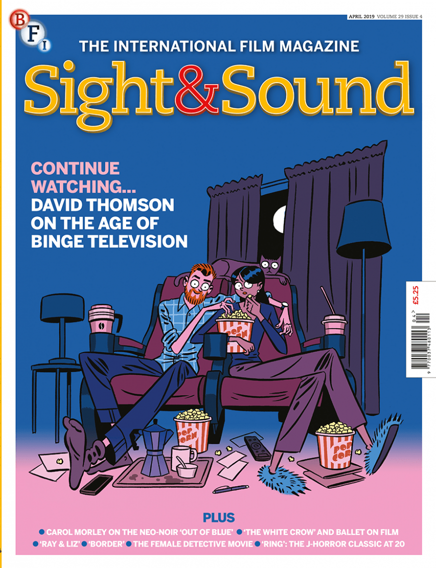 Portada de abril de 2019 de la revista Sight & Sound