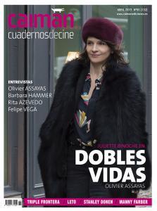 Portada de la revista Caiman. Cuadernos de cine (abril 2019)