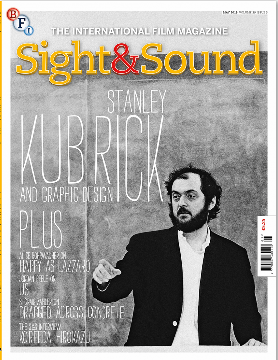 Portada de la revista Sight&Sound (mayo 2019)