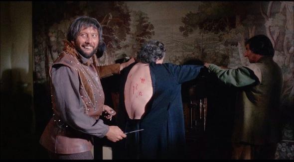 Rupert Davis y Robert Russell en una imagen de Witchfinder General