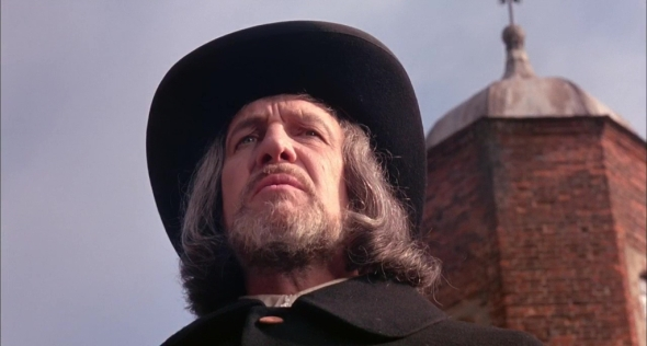Vincent Price en una imagen de Witchfinder General
